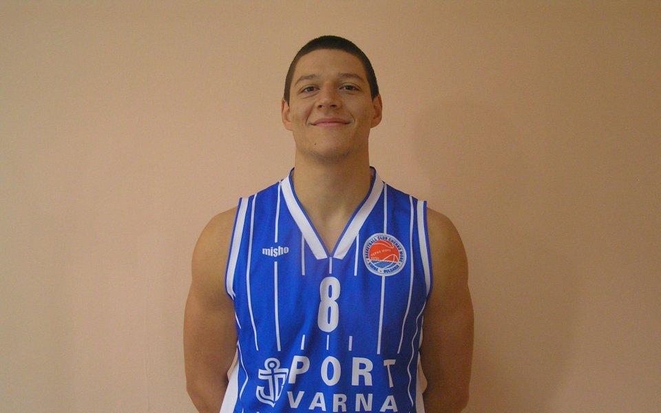 Стоянов от баскетболния Черно море: Дано за плейофите съм готов