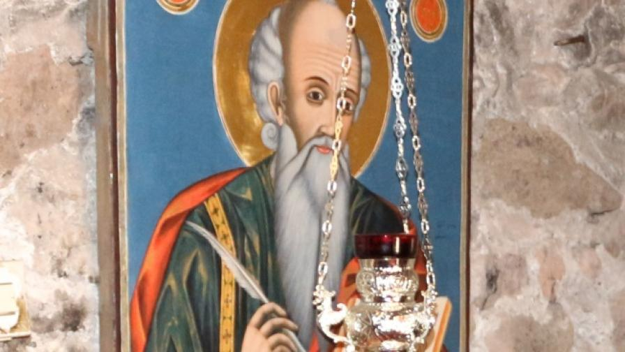 Икона на Св. Йоан Богослов от Погановския манастир
