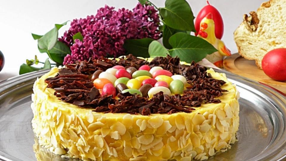 Торта от козунак