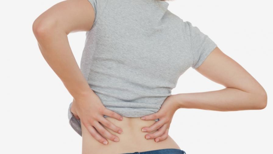 Парацетамолът не помага при болки в гърба