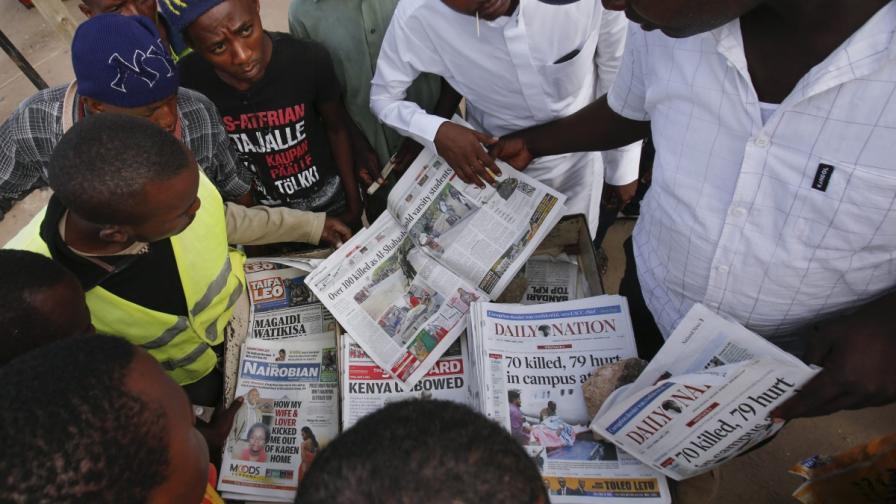 """""""Аш Шабаб"""" заплаши с нови атаки в Кения"""