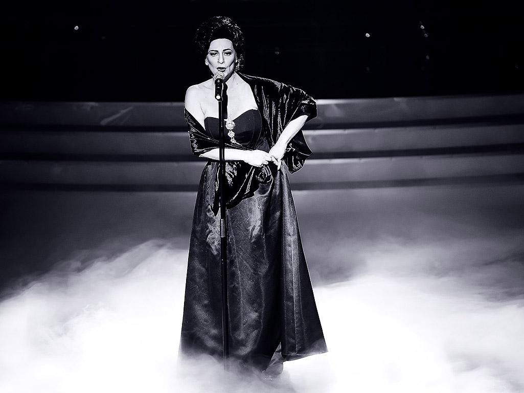 Нона Йотова като Мария Калас.