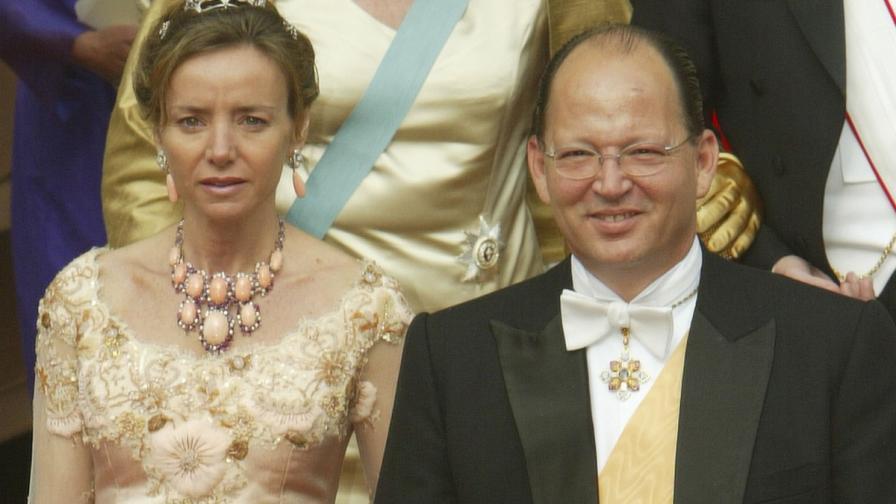 Княз Кардам със съпругата си