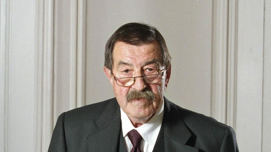 Почина германският писател Гюнтер Грас