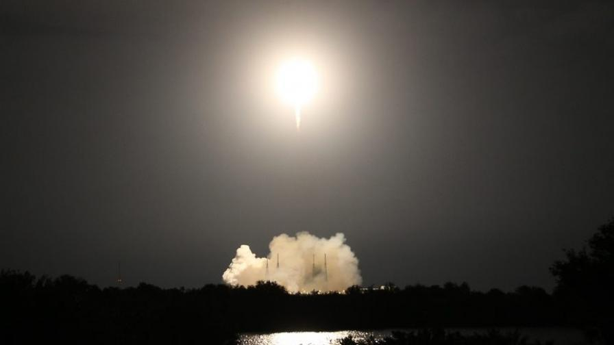 """""""Спейс Екс"""" пак не успя да запази първата степен на своята ракета-носител"""