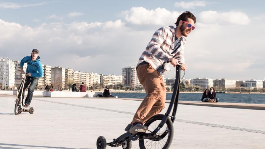 Halfbike II – велосипедна революция със стил