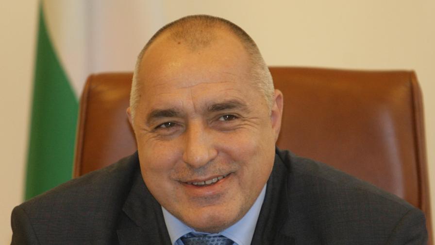 Премиерът Бойко Борисов