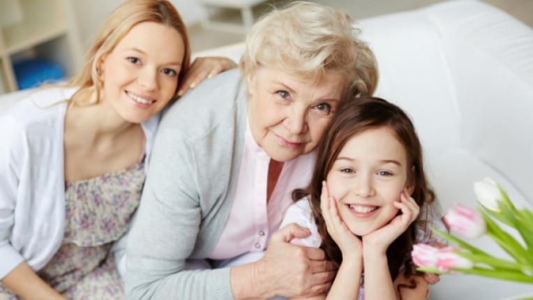 баба внук дете деца