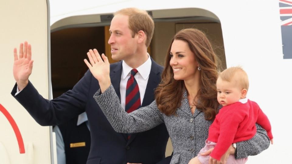 Кейт и Уилям станаха родители за втори път - имат дъщеря