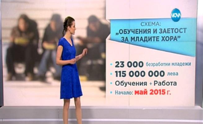 Работа за млади се осигурява със 180 млн. европари