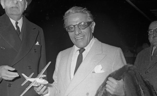 Аристотел Онасис през ноември 1959 г.