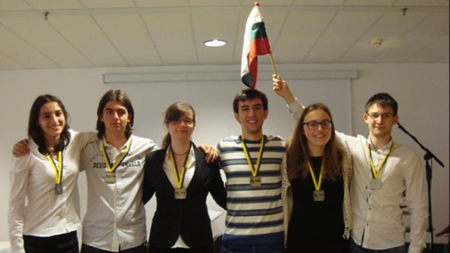 Българчета със сребърни медали на олимпиада на ЕС
