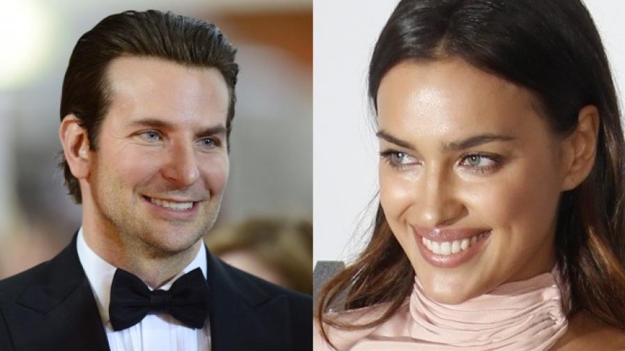 Брадли Купър и Ирина Шейк – новата звездна двойка
