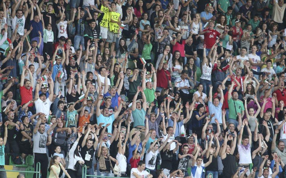 Рекорд за България с мача на откриването на Европейското