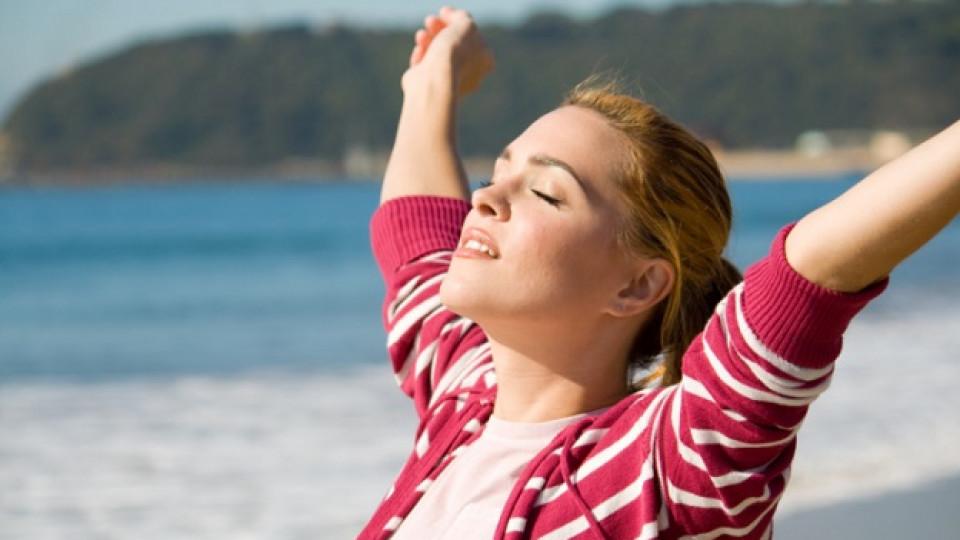Отслабнете с дишане или правилото на 5 по 5