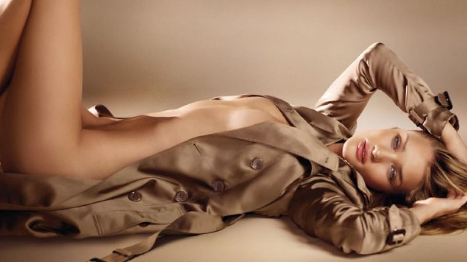 Приятелката на Джейсън Стейтъм, британската актриса и модел Роузи Хънтигтън-Уйатли улавя духа на Burberry Body