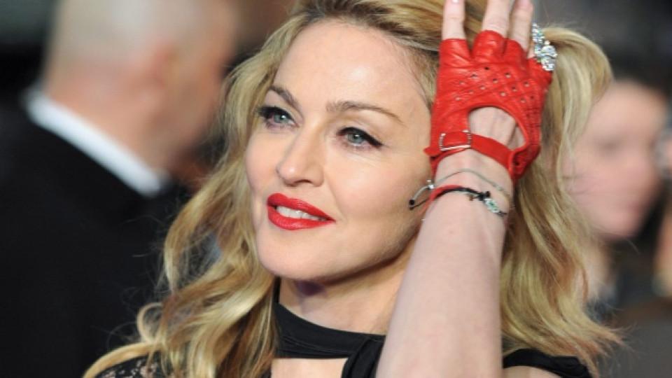 Мадона по време на лондонската премиера, състояла се в началото на 2012-та, на филма W.E., на който тя е режисьор