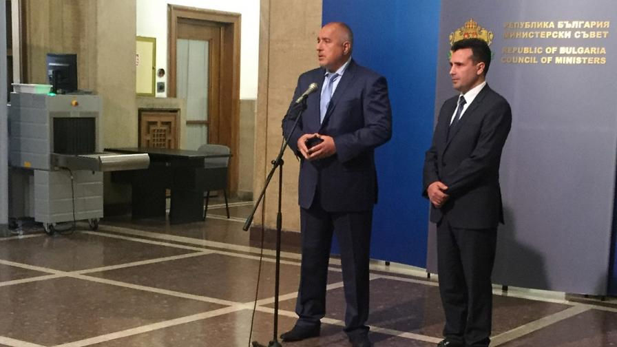 За какво говори Зоран Заев с българските политици
