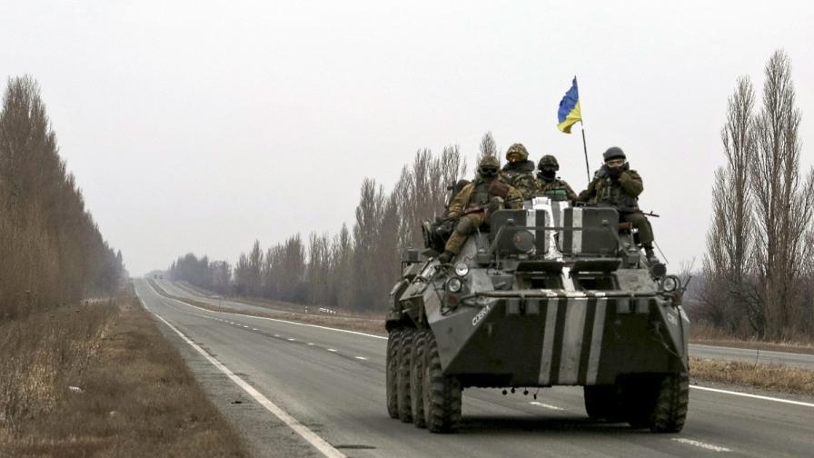 Украинската армия е в повишена бойна готовност