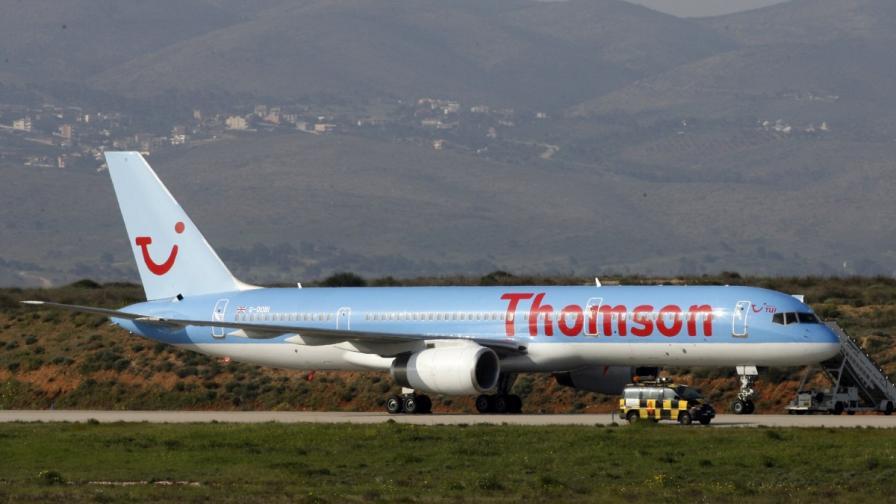 Отново: Буйстващ британец приземи самолет в София