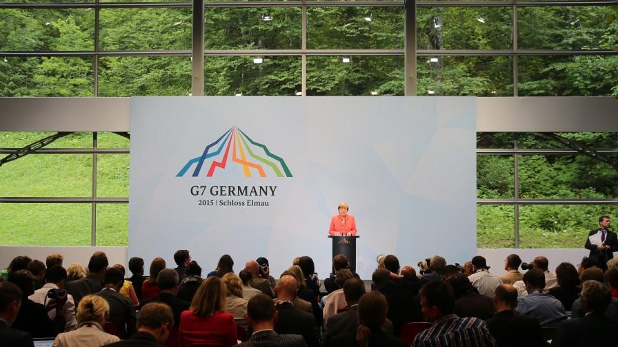 Лидерите от Г-7 обещаха конкретни неща по пет теми