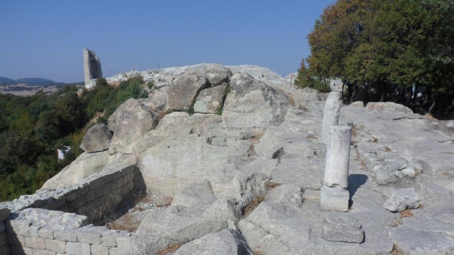 Откриха мавзолей от епохата на Юстиниан Велики в Перперикон