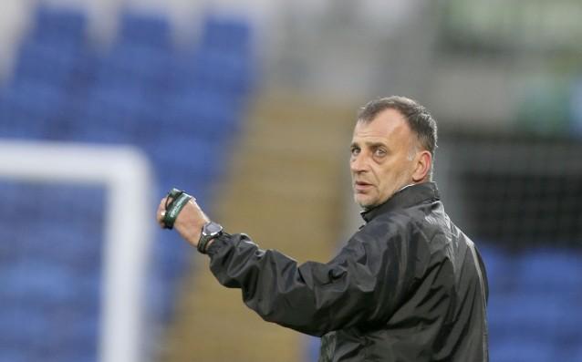 Селекционерът на младежкия национален отбор до 21 години Антони Здравков