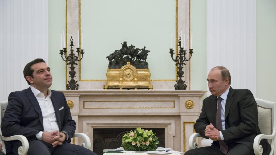 """Русия и Гърция подписаха за """"Турски поток"""""""