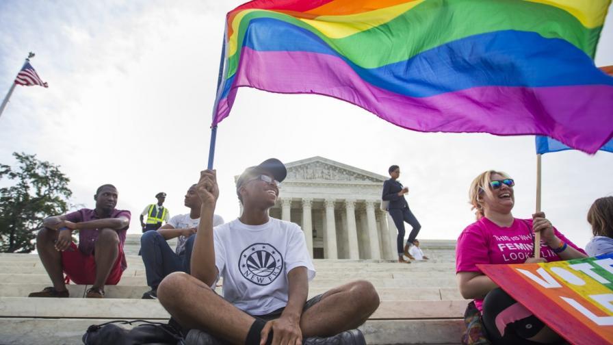 Върховният съд в САЩ обяви гей браковете за законни