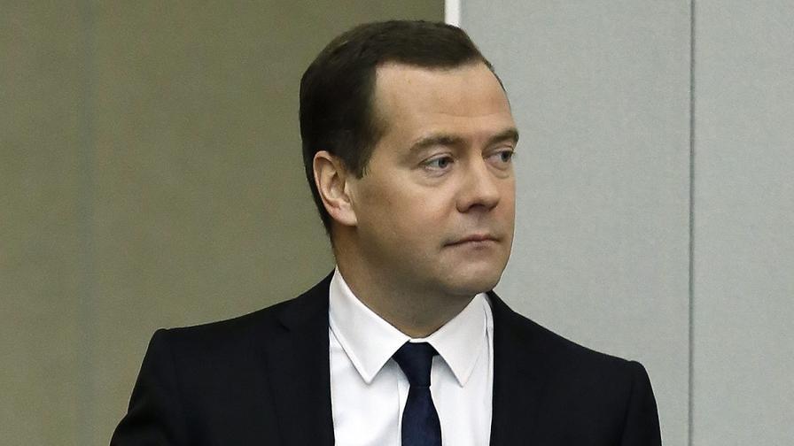 Дмитрий Медведев обяви окончателна цена за газа за Украйна