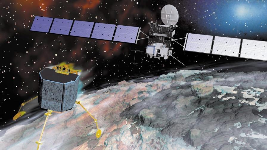 """""""Филе"""" доказа, че кометите са като космически лаборатории"""