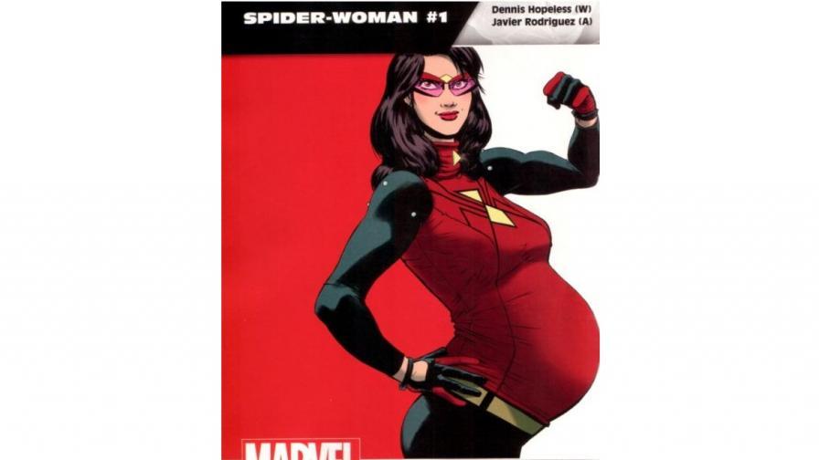 """""""Марвел"""" с бременна супергероиня"""