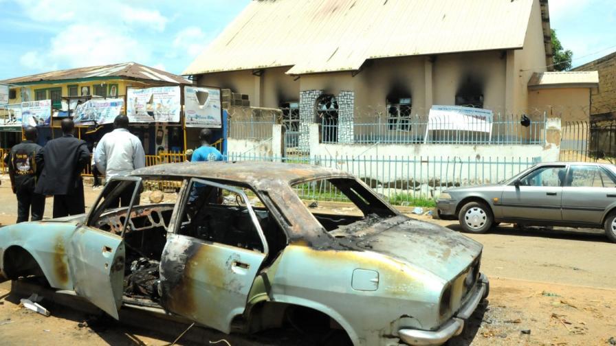 13-годишнa нигерийка се взриви при опит за атентат