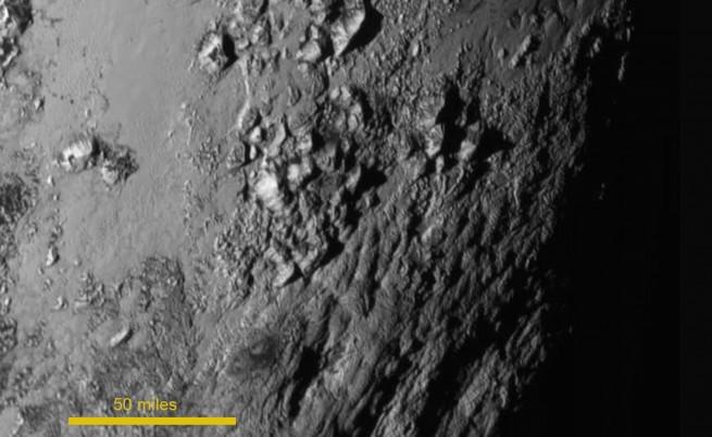 Повърхността на Плутон