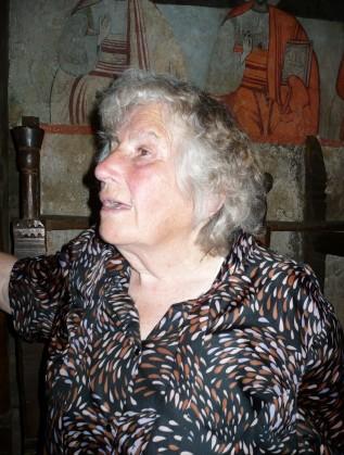 Баба Стефана, пазителката на храма