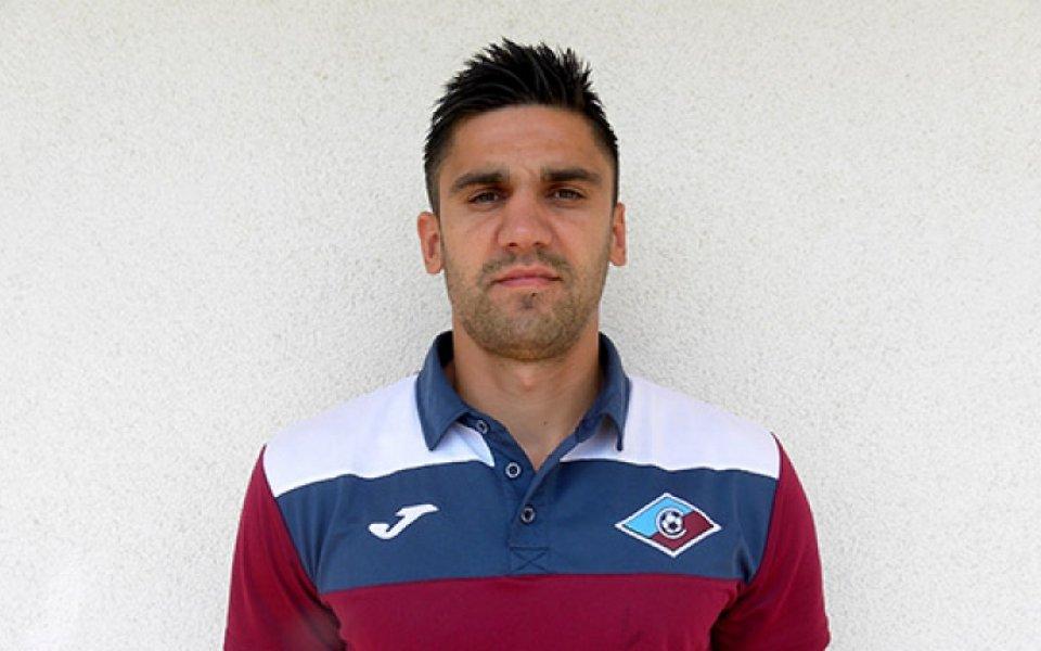 Септември загуби Ники Иванов за старта на сезона