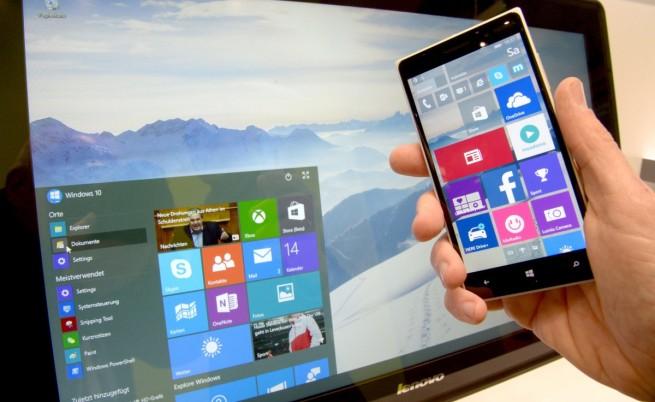 Microsoft подлага Winodws 10 на диета