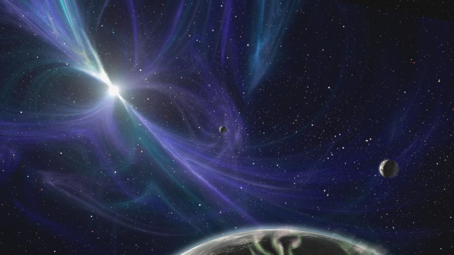 За пръв път наблюдаваха полярно сияние извън Слънчевата система