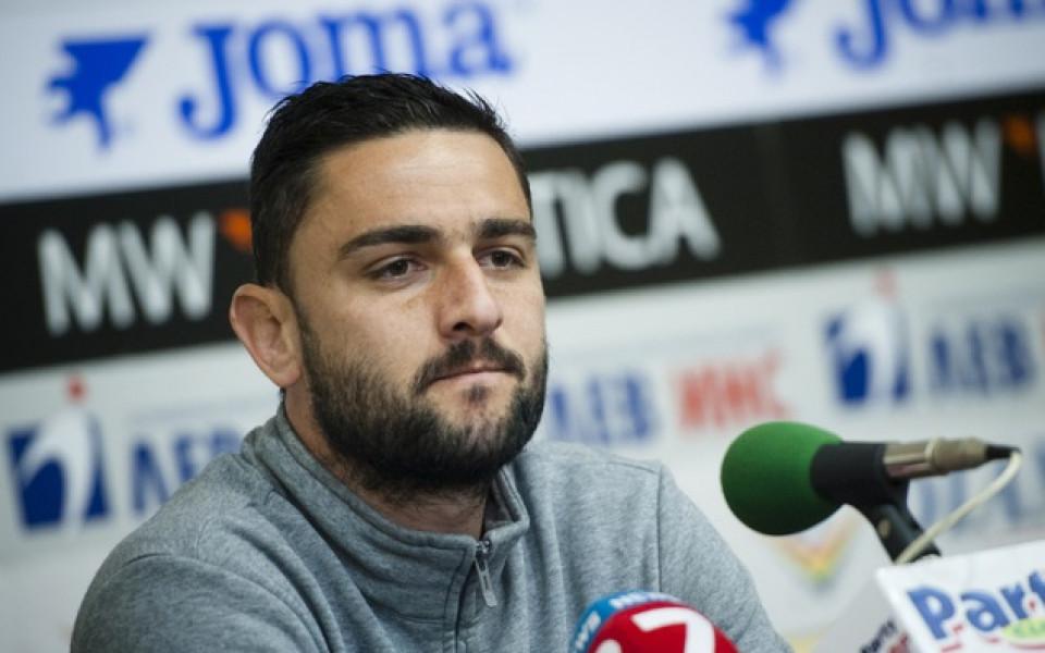Владо Гаджев дебютира за Анортозис