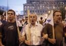 Протести в Атина срещу споразумението за нов спасителен план