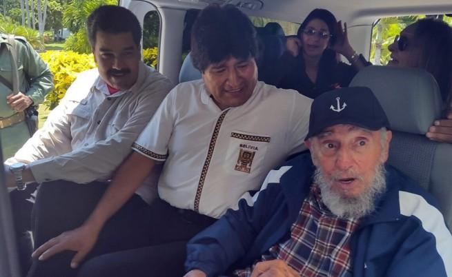 Фидел Кастро стана на 89