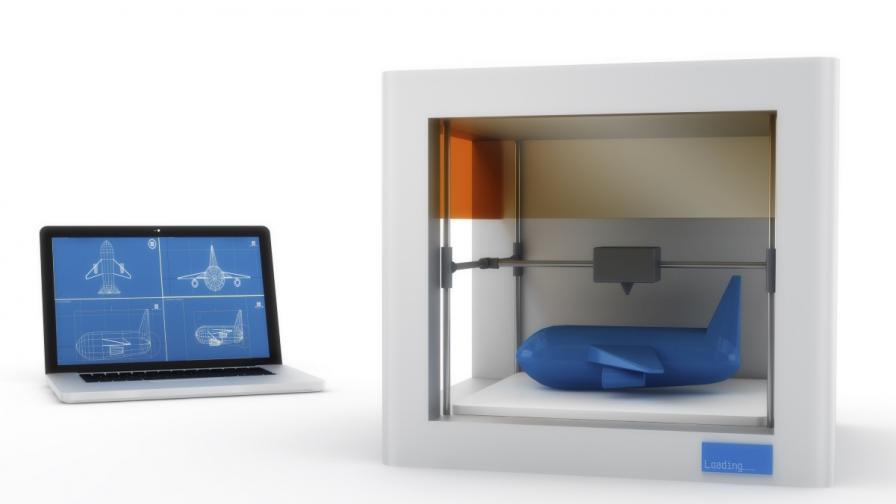 """""""Еърбъс"""" ще прави самолетни части с 3D принтери"""
