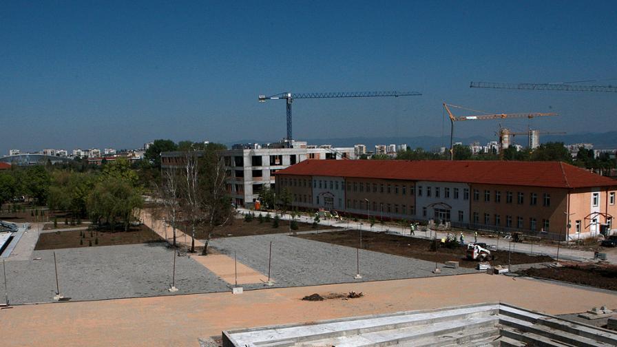 Строежът на първия научен и технологичен парк в България