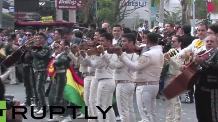 Междуанароден мариачи фестивал в Мексико (видео)