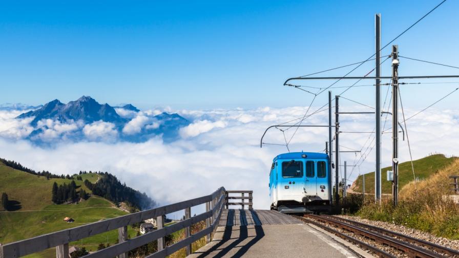 В Швейцария пуснат специални влакове за китайски туристи
