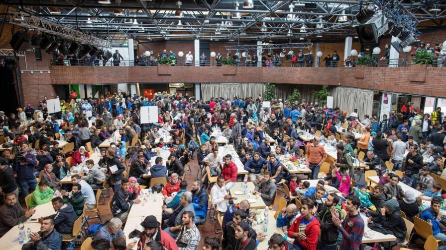 Бежанци в Дортмунд