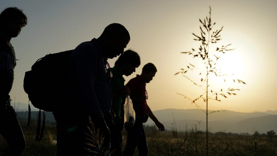 МВР с положителен баланс на бежанците през януари