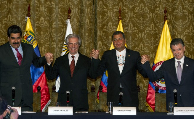 Колумбия и Венецуела се споразумяха да възстановят отношенията си