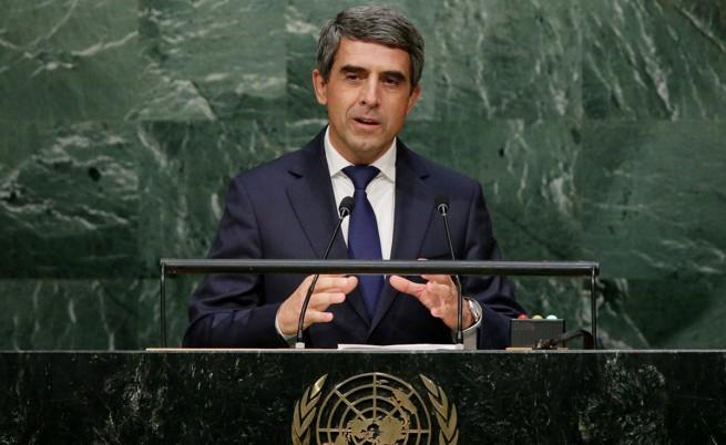 Плевнелиев в ООН: Да работим за свят без бедност