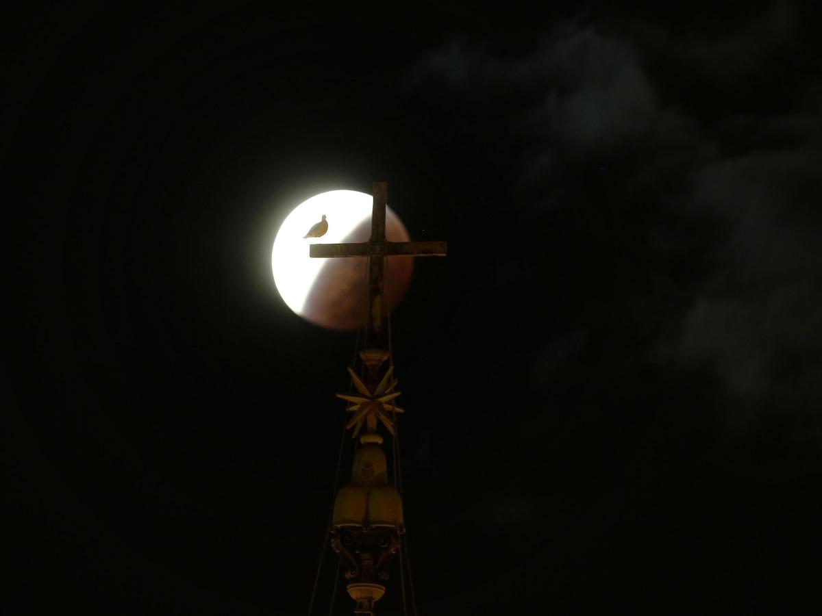 Тази нощ наблюдавахме особено зрелищно пълно лунно затъмнение, съвпадащо със суперлуние – максималното доближаване на Луната до Земята.